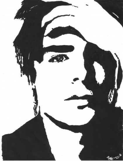 Portrait Of Zac Efron By Rvsa17 On Stars Portraits